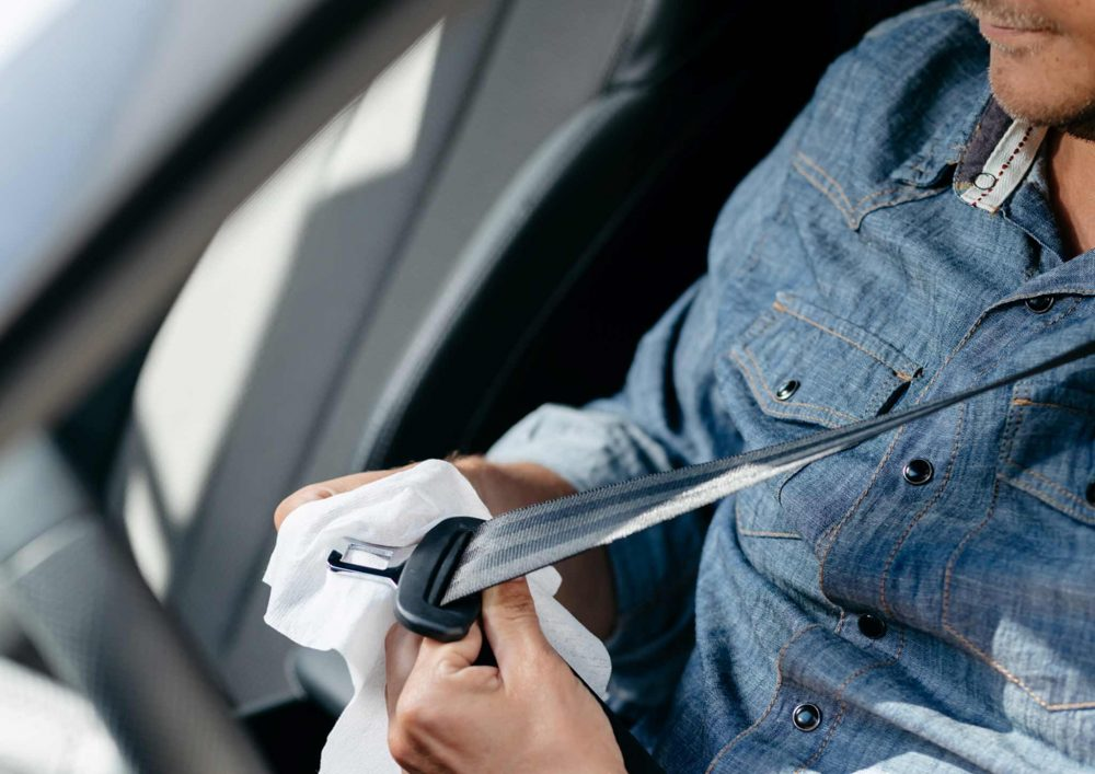 Kungs desinfioiva auton sisätilojen puhdistusliina (30 kpl)