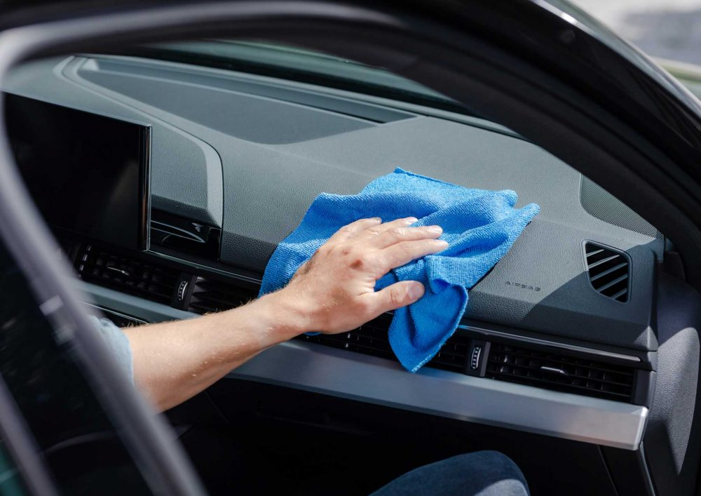 Kungs multipurpose car cleaning cloth (30 pcs)